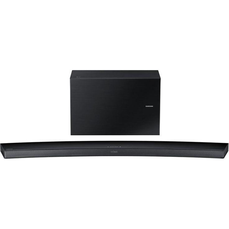 Samsung HW-J7500R Sound Bar Speaker - Portable, Wall Mountable - Wireless Speaker(s) - Black - Dolby Digital 5.1, Surround Sound, DTS 2...