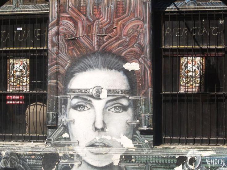 Graffitti in Chile
