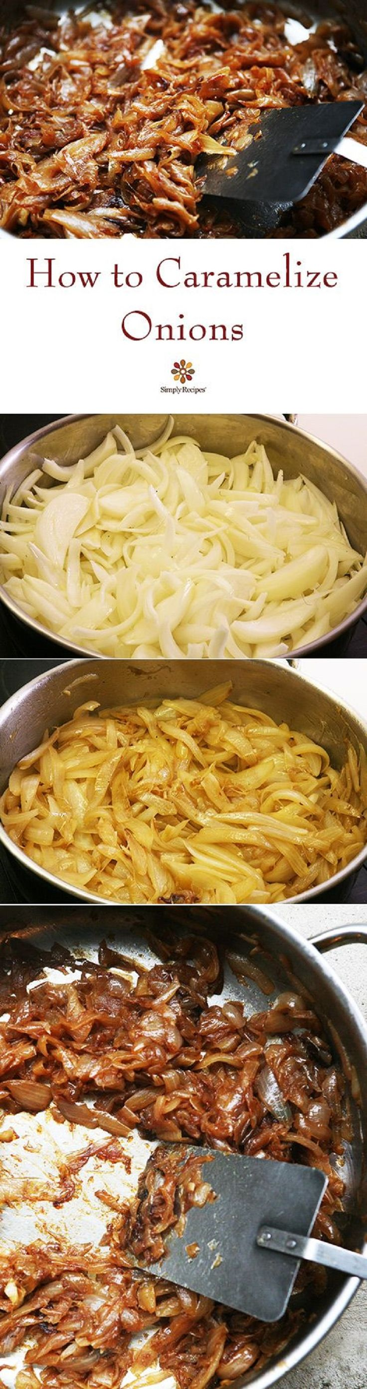 How to Caramelize Onions - 20 Cooking New Year's Resolutions to Accomplish in 2015 | GleamItUp