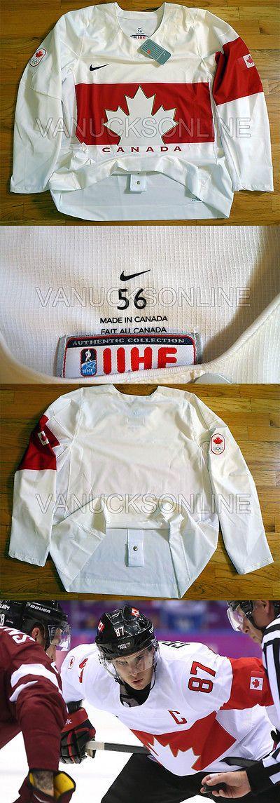 Men 159122: Team Canada Nike Swift Authentic Ice Hockey Jersey Sochi 2014 Olympics White 56 -> BUY IT NOW ONLY: $250 on eBay!