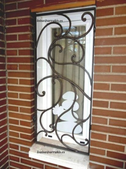 Decorative Windows Security Bar - http://gateforless.com/product-category/security-bar/residential-windows/