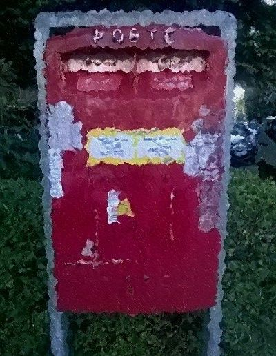 Postal Box - The old SMS of yesteryear.