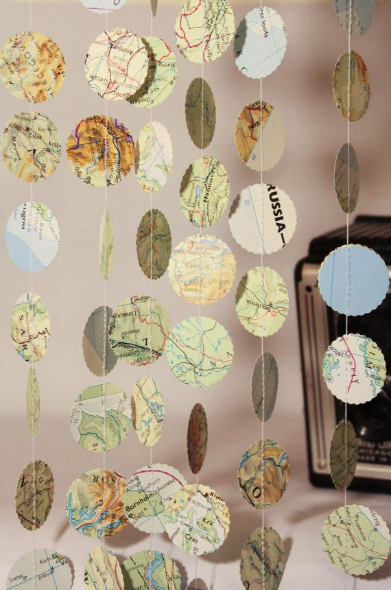 Map or travel room decor!!!!