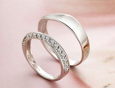 Matching Promise Rings for Boyfriend and Girlfriend