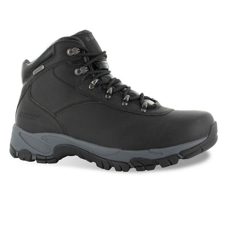 Hi-Tec Altitude V Men's Waterproof Hiking Boots, Size: medium (10.5), Black