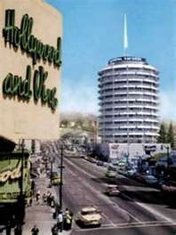 Capitol Records Tower, Hollywood, CA