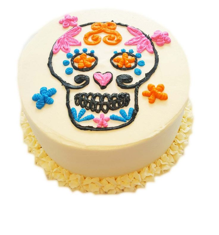 Sugar Skull Cake Kit