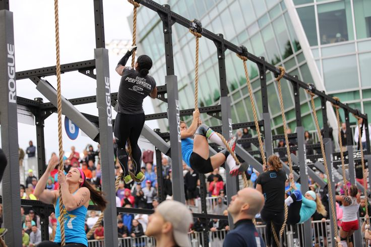 Amanda Goodman BodyScience USA athlete at the 2013 CrossFit Games Northeast Regionals