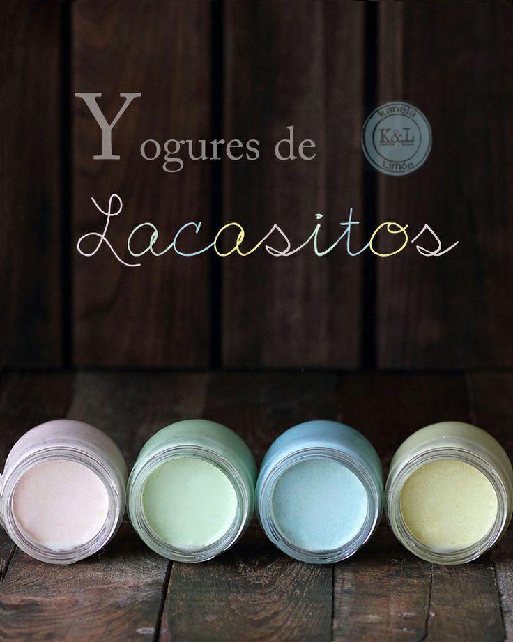 Kanela y Limón: Yogures de lacasitos