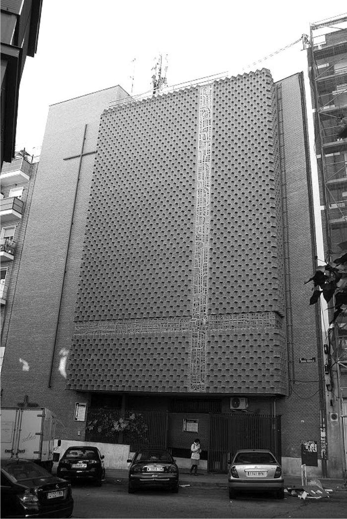 Parroquia de San Eduardo. Luis Cubillo de Arteaga. 1979.