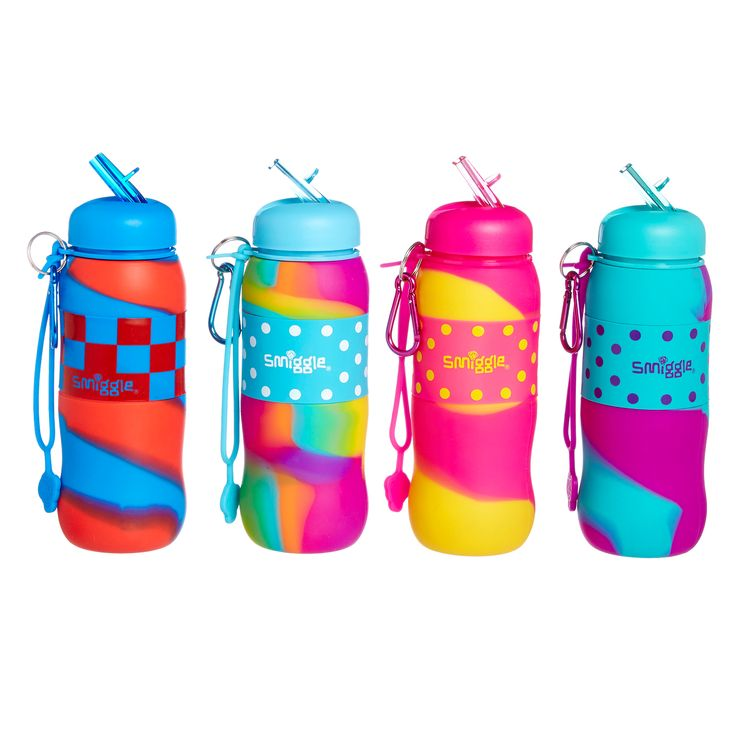 Image for 2Tone Silicone Roll Bottle from Smiggle UK