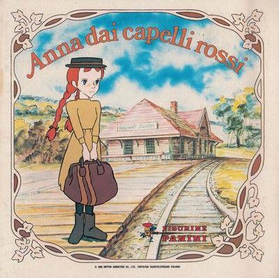 Anna dai capelli rossi, 1980; Panini, Modena; album per la raccolta di 240 figurine