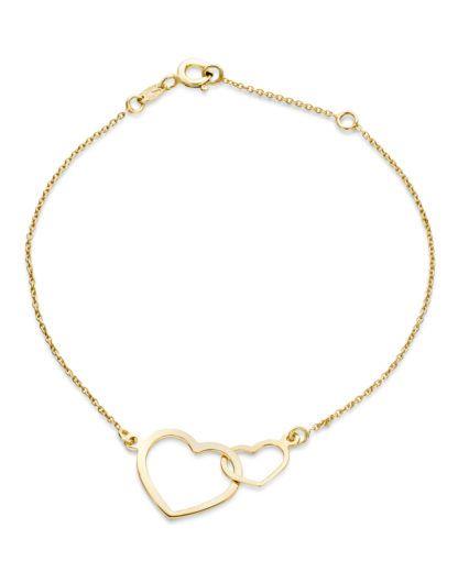 VALERIA Armband 'Herz' aus Gold günstig | VALMANO