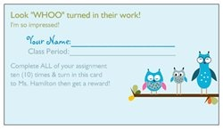 {I'm using these for a homework turn in reward system} Check out the Free Business Cards I created with Vistaprint! Personalize your own Free Business Cards at http://vistaprint.com/free-business-cards.aspx.  Get full-color custom business cards, banners, checks, Christmas cards, stationery, address labels…