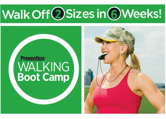 Walking boot camp