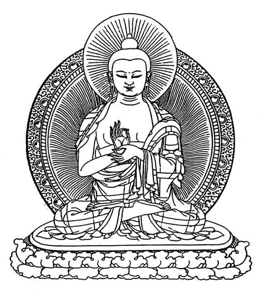 Coloring Pages On Gratitude In The Buddist Religion