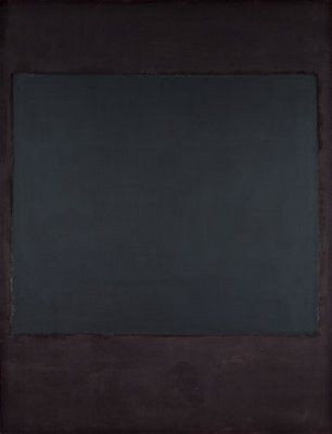 People don't like Rothko, but I could take a nap in this.
