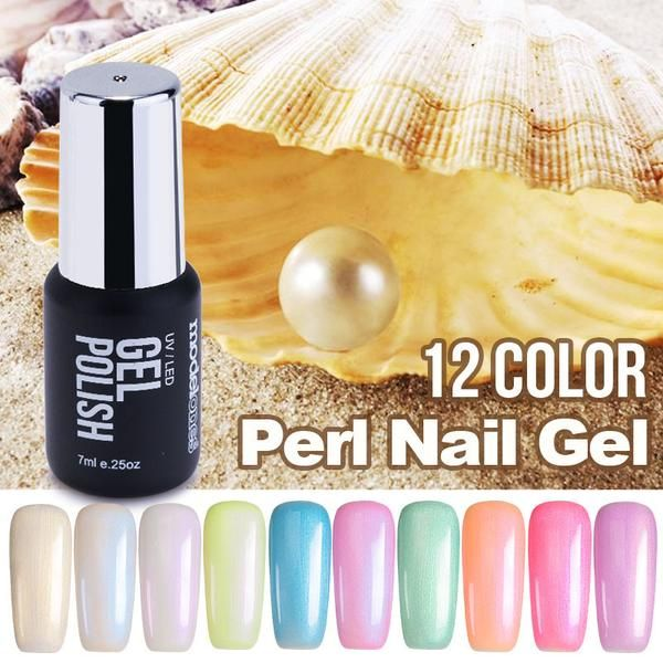 7ML Fashion Pearl UV Nail Gel Polish Jenny Lee Fashion