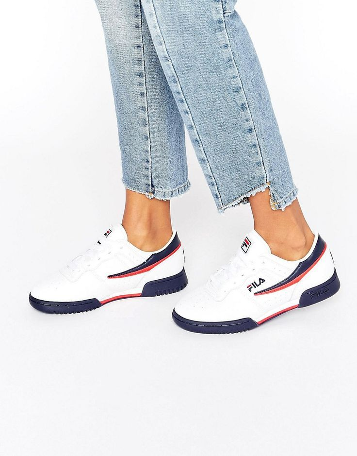 Trendy Sneakers  2017/ 2018 : Image 1  Fila  Original Fitness  Baskets  Blanc