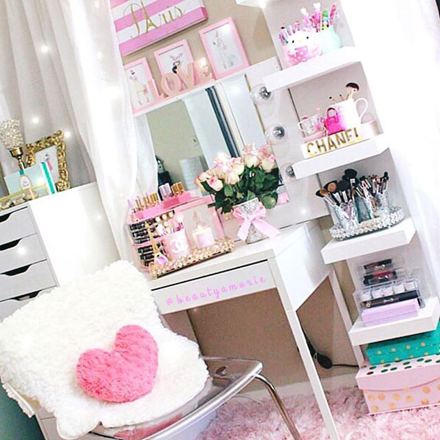The beauty room of a Glamorous Princess!! I am so love with her Ledys style and…