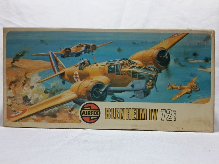 AIRFIX 1:72 BLENHEIM MK IV SERIES 2 UNMADE MODEL KIT in Toys & Hobbies, Models & Kits, Military | eBay