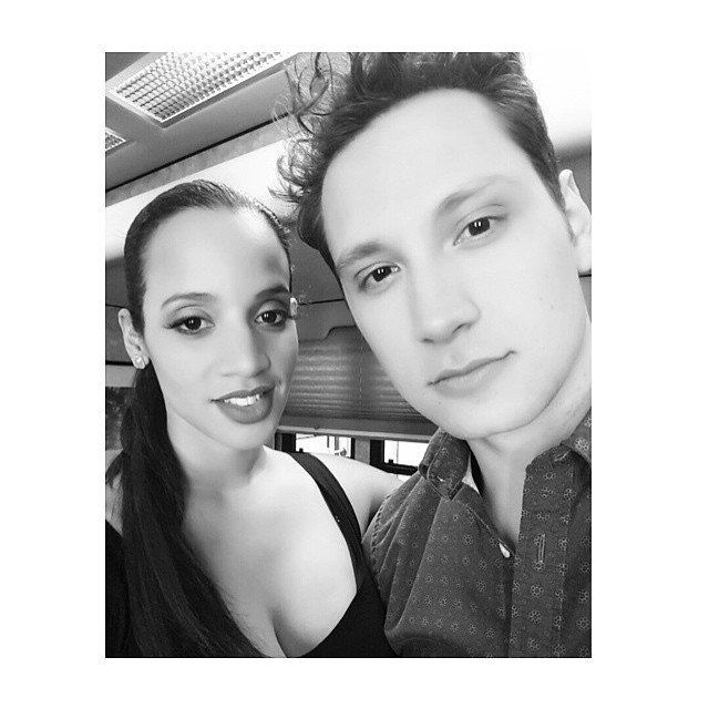 Pin for Later: This Week's Cutest Celebrity Candids Dascha Polanco Dascha Polanco hung out with her Orange Is the New Black costar Matt McGorry.