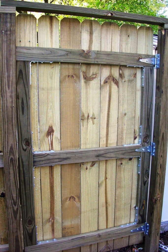 how to build a fence gate