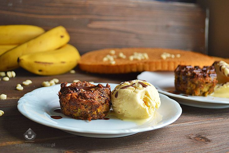 Biszkoptowo-bananowe muffinki