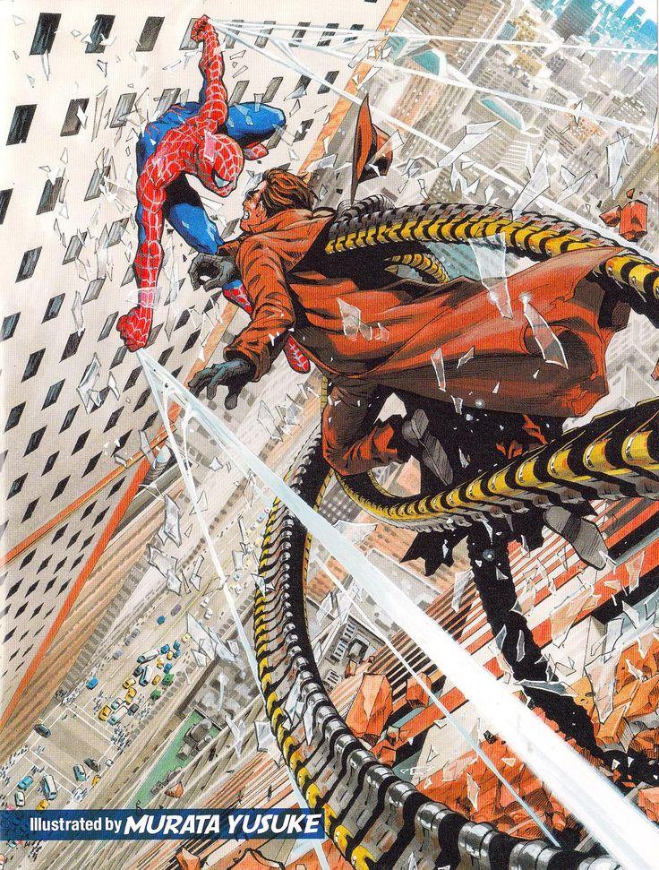 Spider-Man by Yusuke Murata : comicbookart
