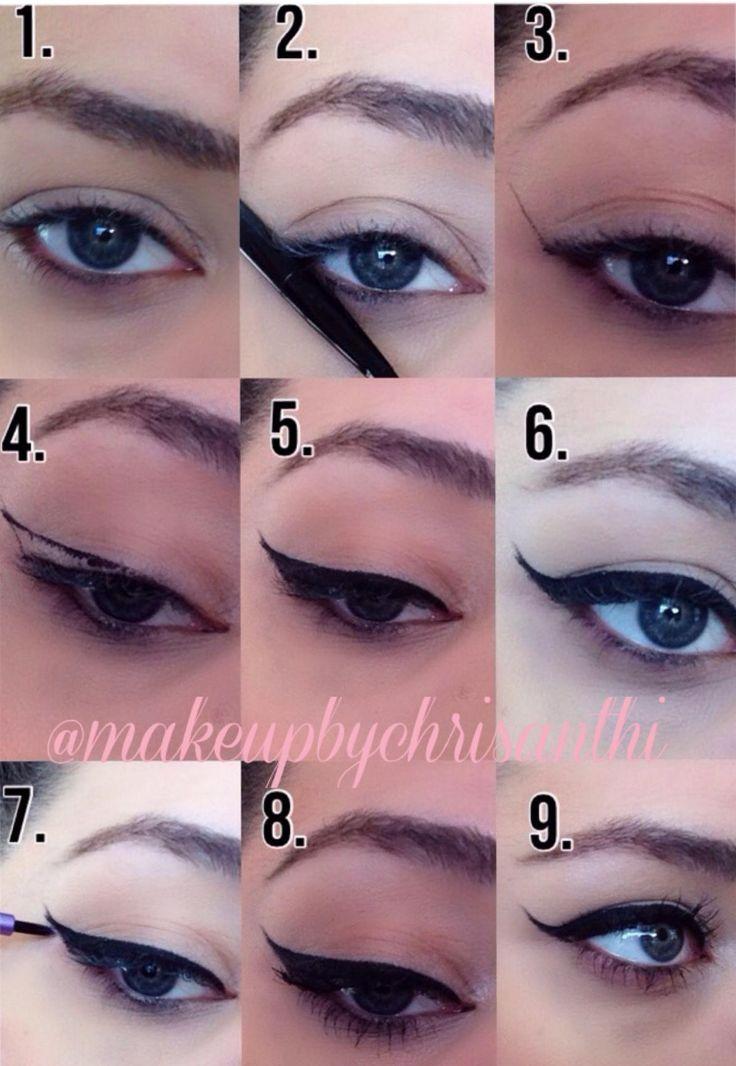 Eyeliner Tutorial: The 25+ Best Eyeshadow On Hooded Eyes Ideas On Pinterest