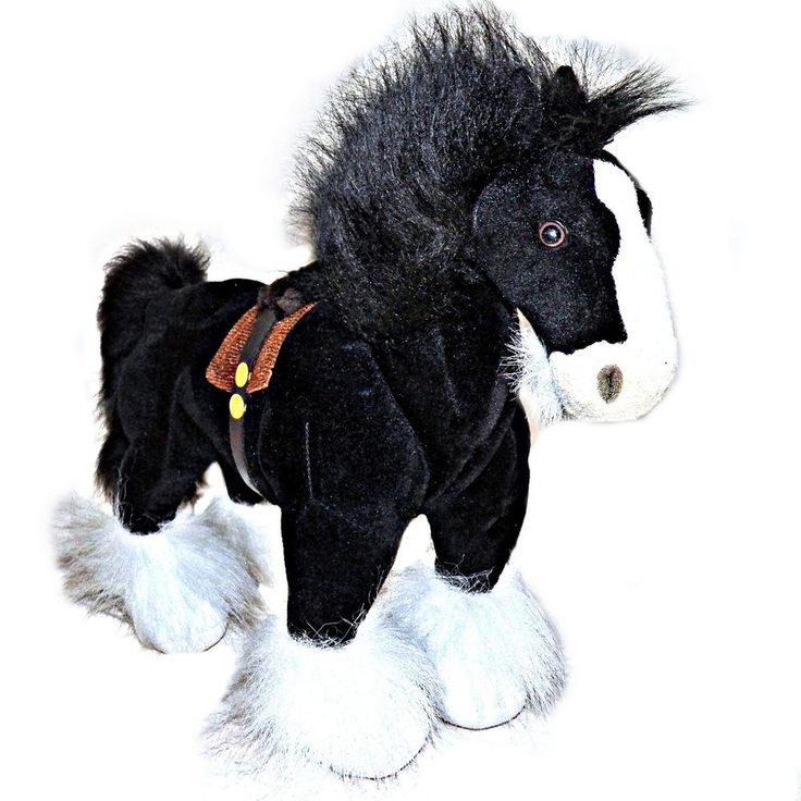 Disney Store Exclusive Brave Angus Black Shire Meridas Horse He Whinnies 14 x 17 #Disney
