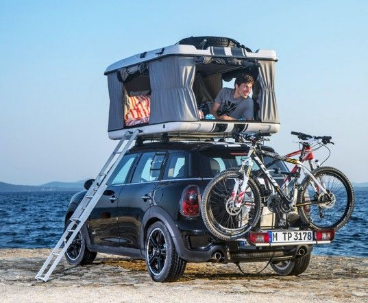 MINI Unveils Three of the World's Tiniest Luxury Campers | Inhabitat - Sustainable Design Innovation, Eco Architecture, Green Building