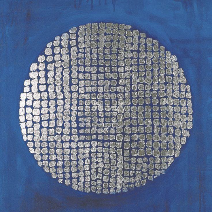 Constellation, acrylic and metallic leaf on canvas. www.celeste.nz