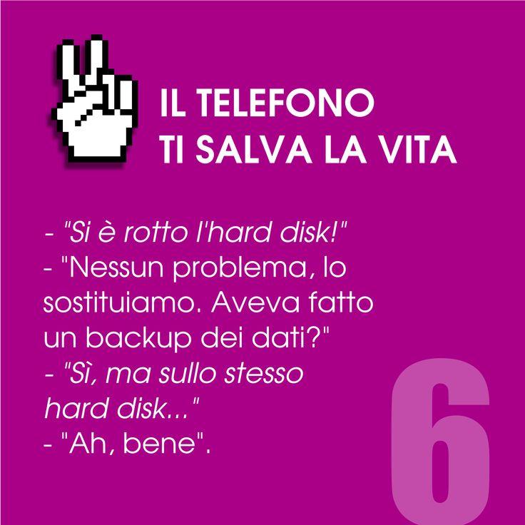 Il telefono ti salva la vita n. 6