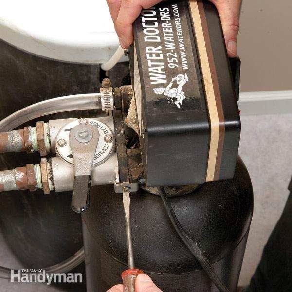 Reparación ablandador de agua