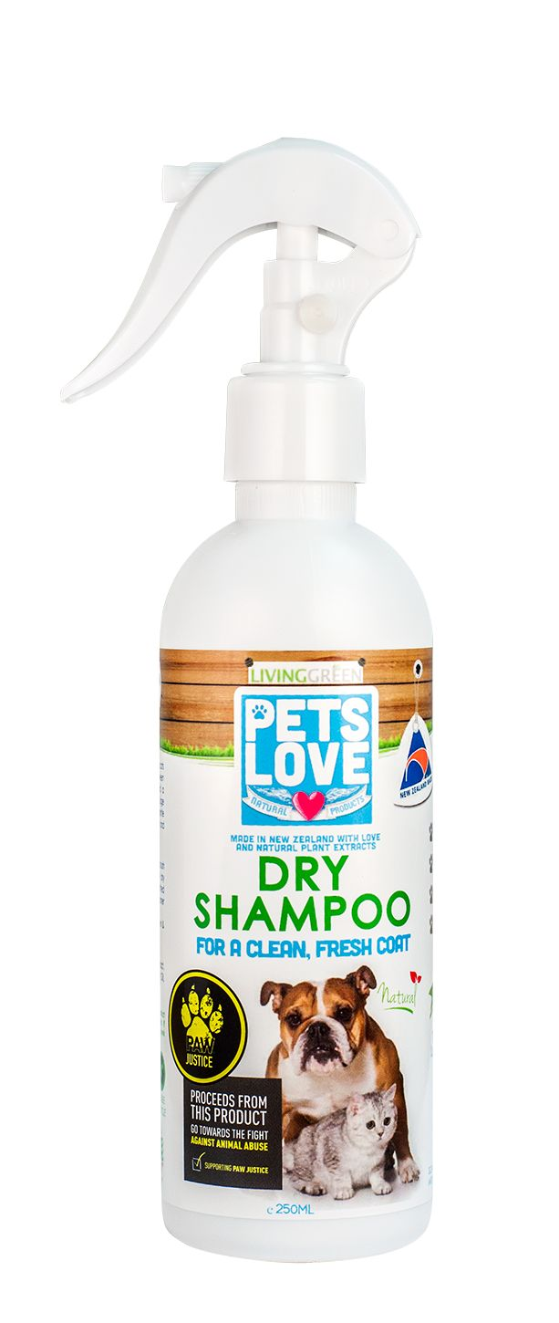 Our amazing Petslove Dry Shampoo is fantastic for refreshing your dog or cats coat inbetween washes.
