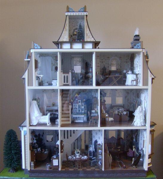 My Beacon Hill Dollhouse 15   My Beacon Hill Dollhouse   Gallery   The  Greenleaf Miniature