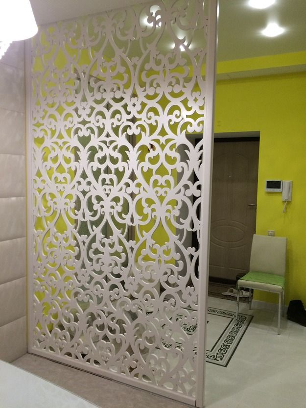 Laser cut screen - room divider
