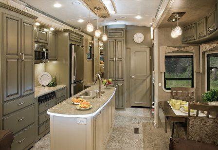Fifth Wheel Painted Cabinets Google Search Rv Remodel