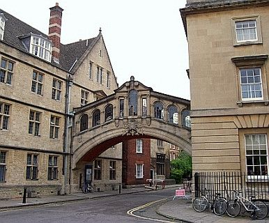 Pont des soupirs Oxford