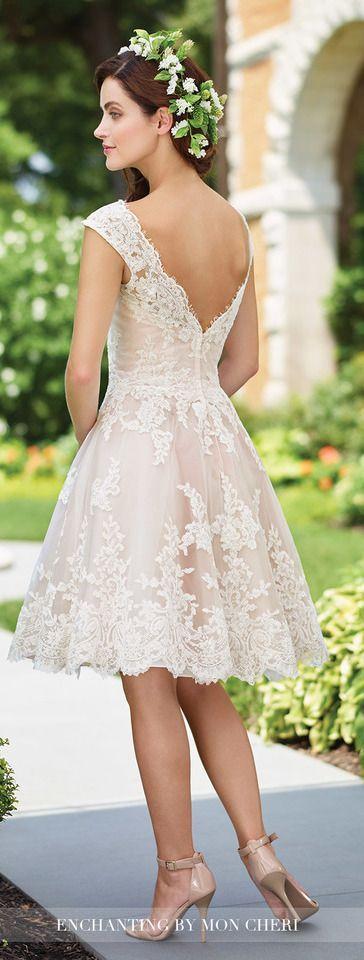 Enchanting by Mon Cheri Wedding Dresses 2017 | Wedding Trends 2017: Blushing Bridal Gowns