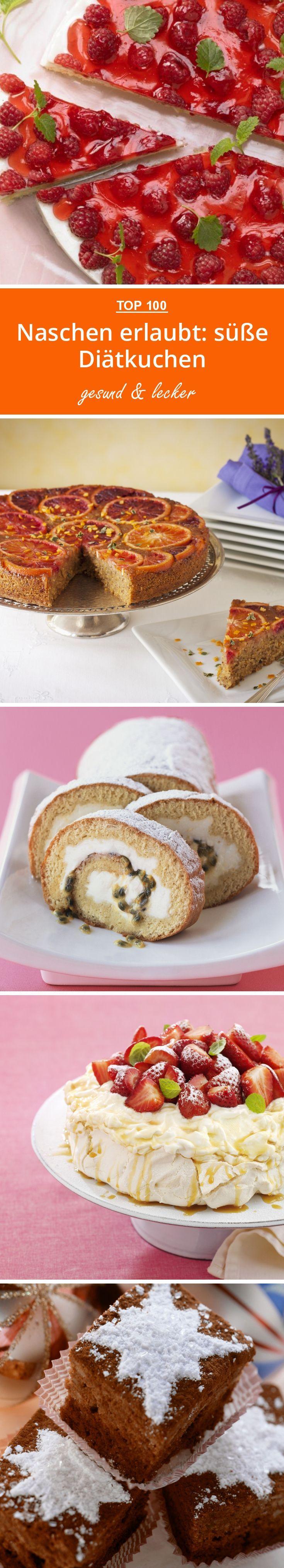 Naschen erlaubt: süße Diätkuchen | eatsmarter.de #kuchen #diät #diätrezepte