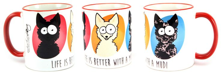 ColorFunDogs mug #colorfundogs #mug #kelpie