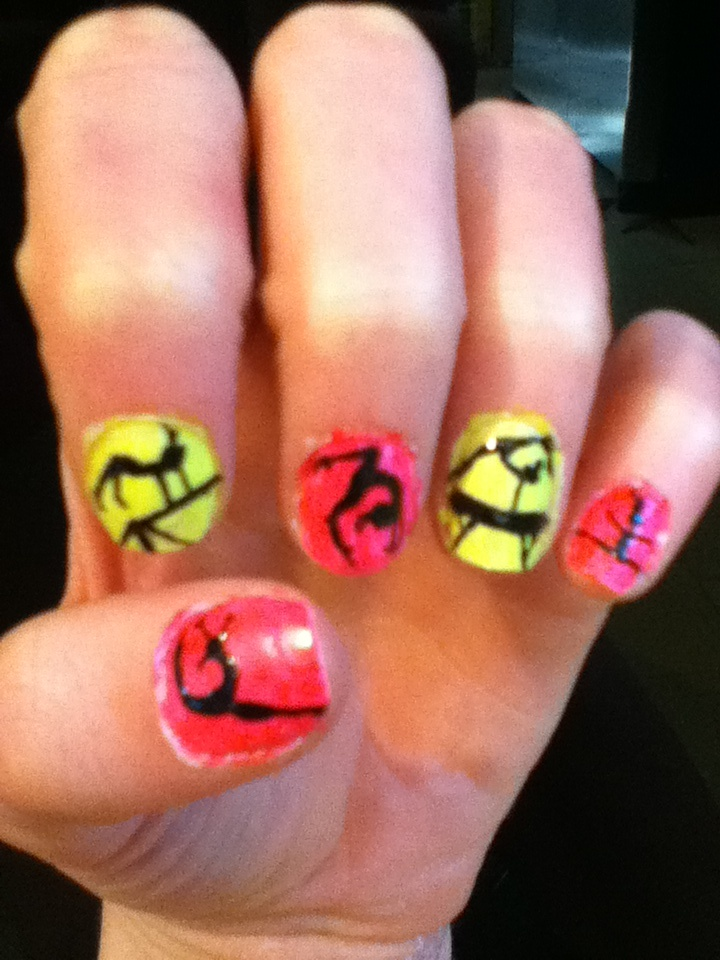 yes. i. went. there:) gymnast nails<3