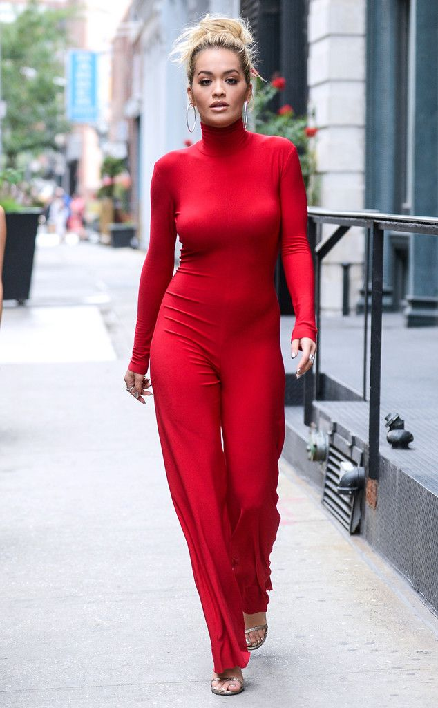 Rita Ora from The Big Picture: Today's Hot Pics  Red hot! The singer is spotted…