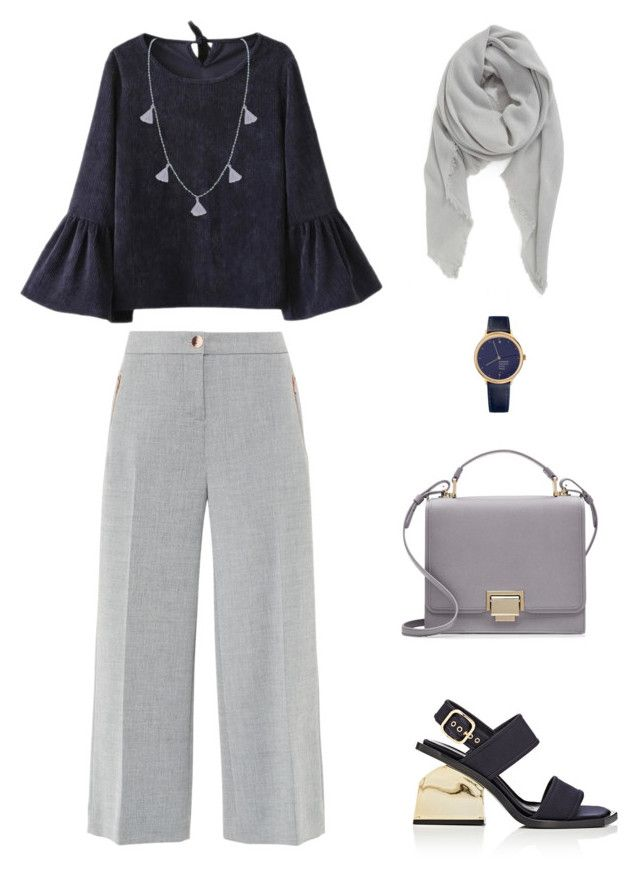 """Untitled #91"" by priliscaa on Polyvore featuring Humble Chic, BP., Ted Baker, Smythson, Mondaine and Marni"
