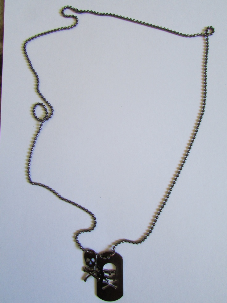 Skull and Cross Bones Necklace, Also From a 2 for 12 Dollars Sale at Jay Jays