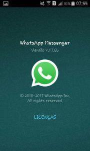 Nova versão do whatsapp trás emogis novos. Confira já.