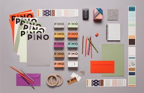 Pino - colour block logotypes: Branding Design, Color Palettes, Visual Identity, Corporate Identity, Graphics Design, Identity Design, Branding Identity, Stationery Design, Innovation Design