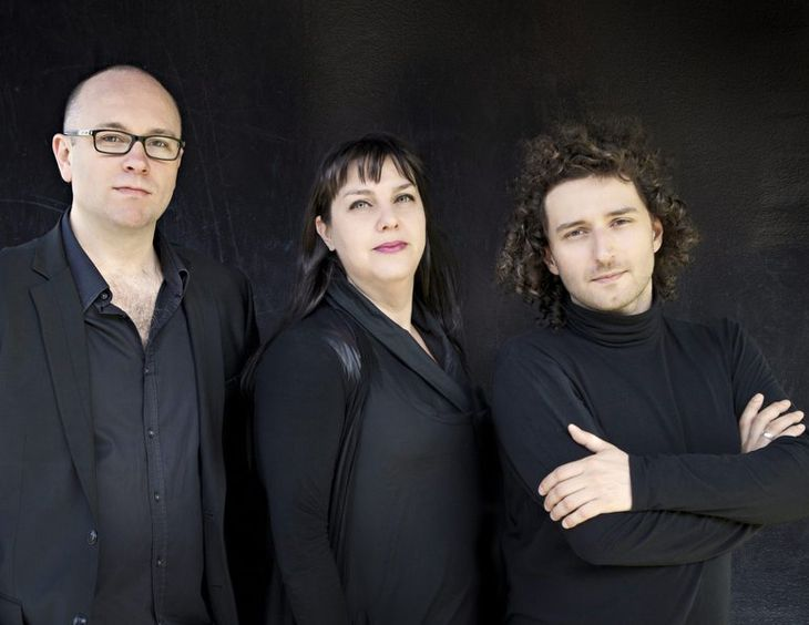 Plexus L to R: Philip Arkinstall (clarinet); Monica Curro (violin) and Stefan Cassomenos (piano).  Image: Belinda Strodder. Plexus is a chamber music group based in Melbourne, made up of clarinet, violin and piano. To date this extraordinary classic music group has premiered some 30 new works by Australian composers, having commissioned 70 new works. They perform regularly at Melbourne Recital Centre and are also available to perform at functions. www.plexuscollective.com.